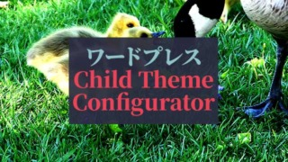 ワードプレス_Child-Theme-Configurator